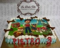 torta paw patrol 3 anni
