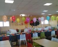 palloncini su sedia