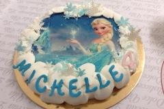 torta frozen 4 anni